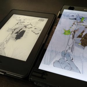 Kindle Paperwhite ブルーライト