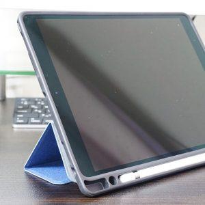 iPad Pro 10.5 ケース Apple Pencil収納 スタンド機能 iVAPO