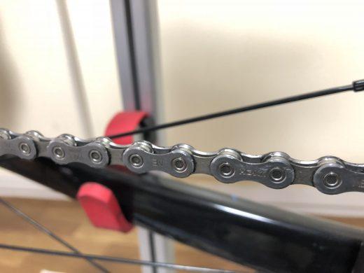 ロードバイク チェーン 掃除