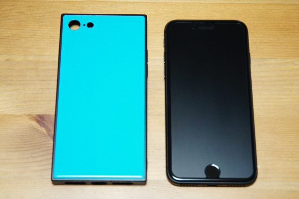 EYLE スクエア型 ケース TILE for iPhone 8 / 7 (TURQUOIZE)