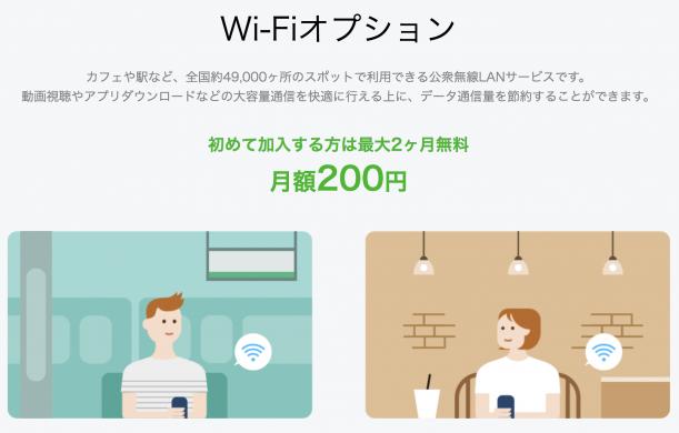 LINEモバイル Wi-Fi