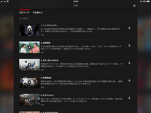 NETFLIX 動画 ダウンロード