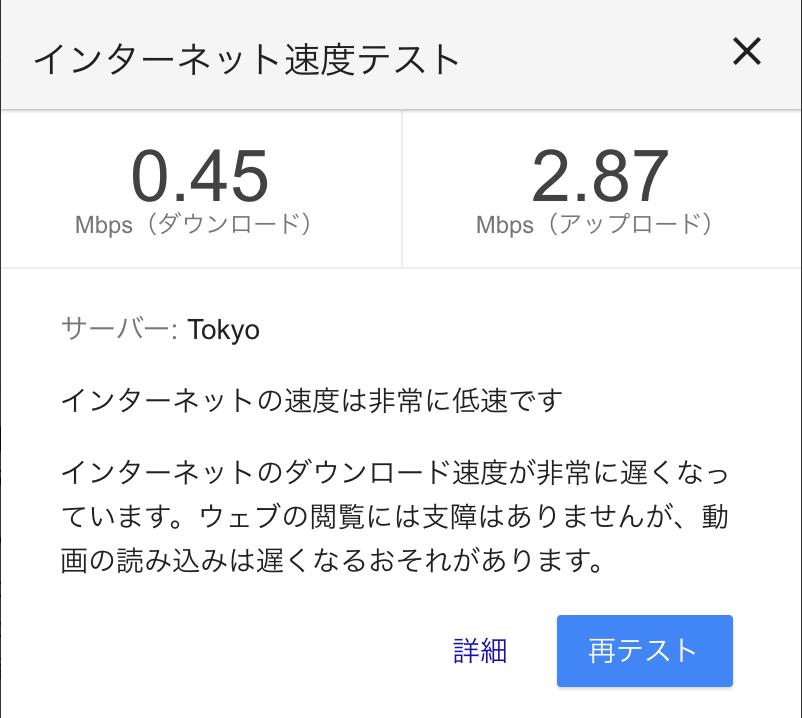 LINEモバイル テザリング速度