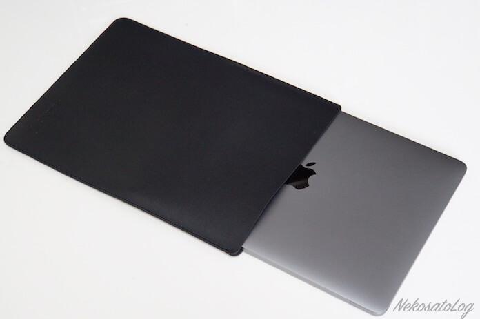 V.M MacBook 12 スリーブ ケース レザー