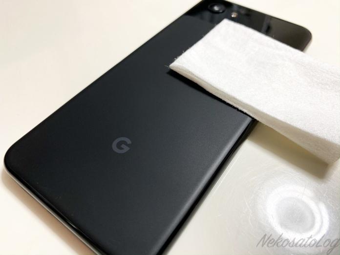 光沢保護フィルム Crystal Shield Google Pixel 3a 両面セット