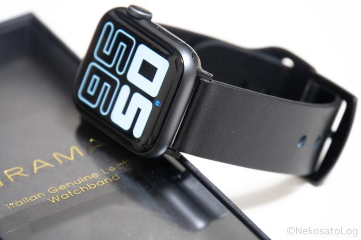 レビュー GRAMAS 本革 Apple Watch バンド