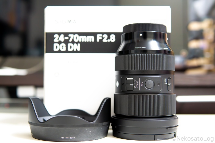 レビュー SIGMA 24-70mm F2.8 DG DN Art