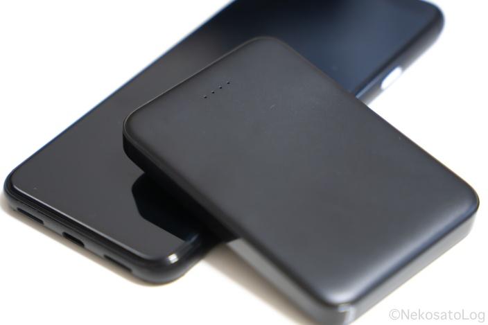 レビュー 明誠 小型モバイルバッテリー