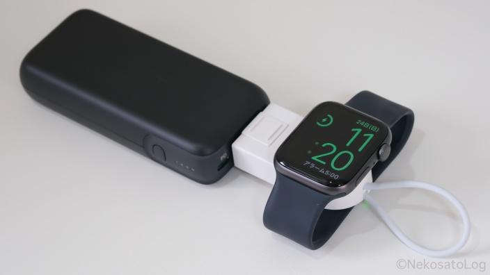 レビュー CRAIFE Apple Watch 充電器
