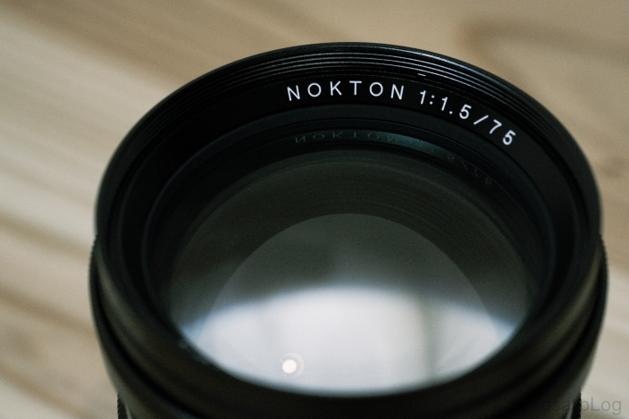 NOKTON 75mm F1.5 レビュー