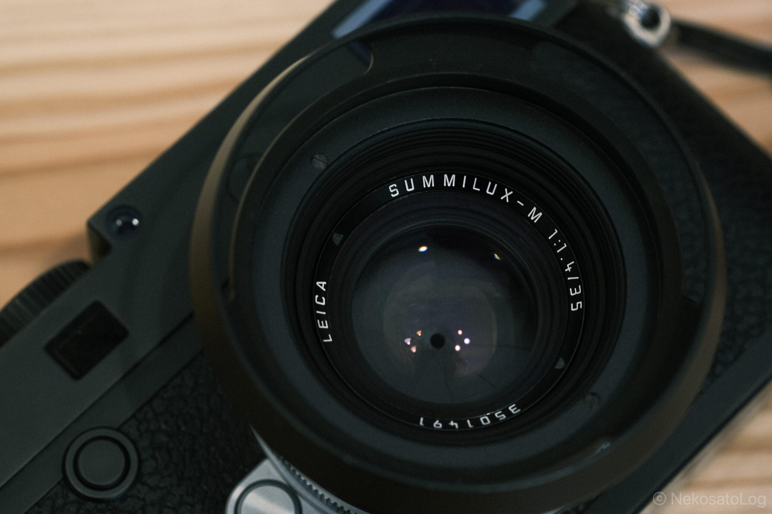 Summilux 35mm F1.4 2nd レビュー