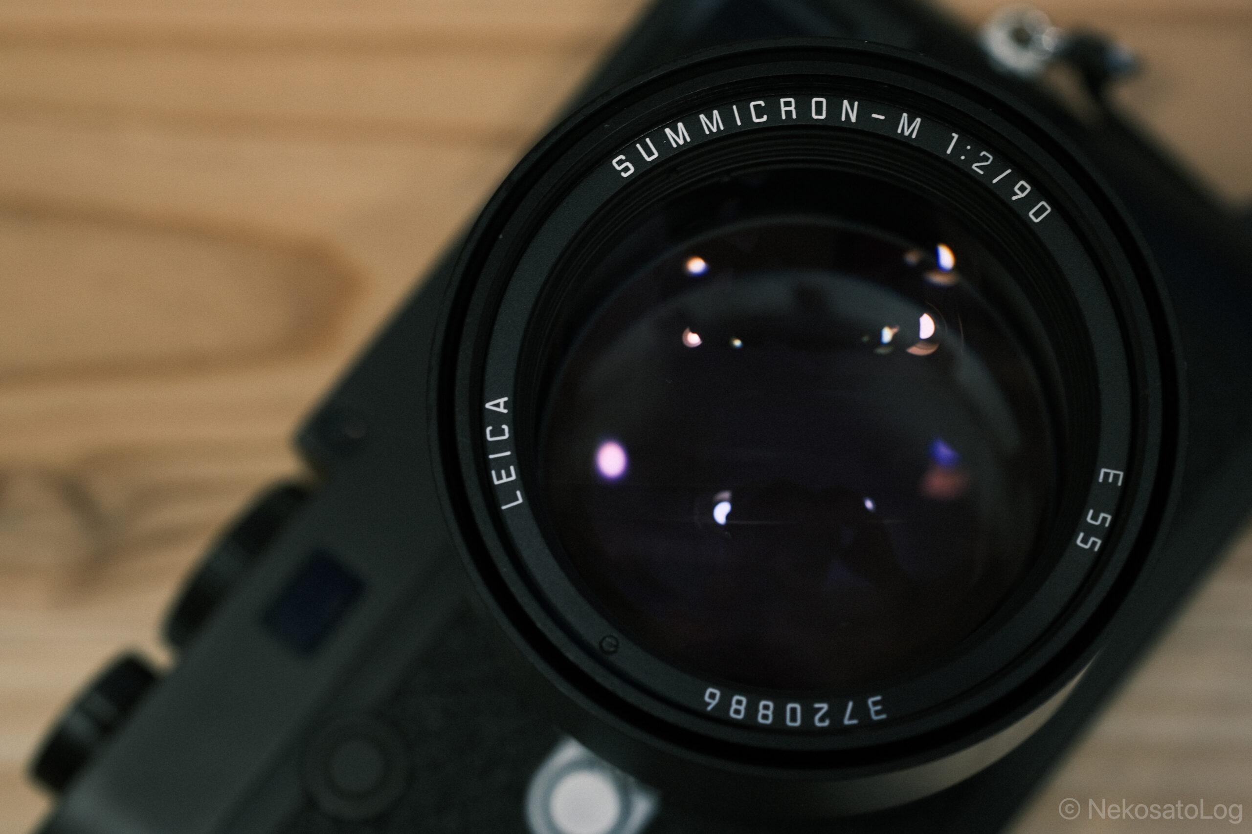 レビュー Summicron 90mm F2 3rd E55
