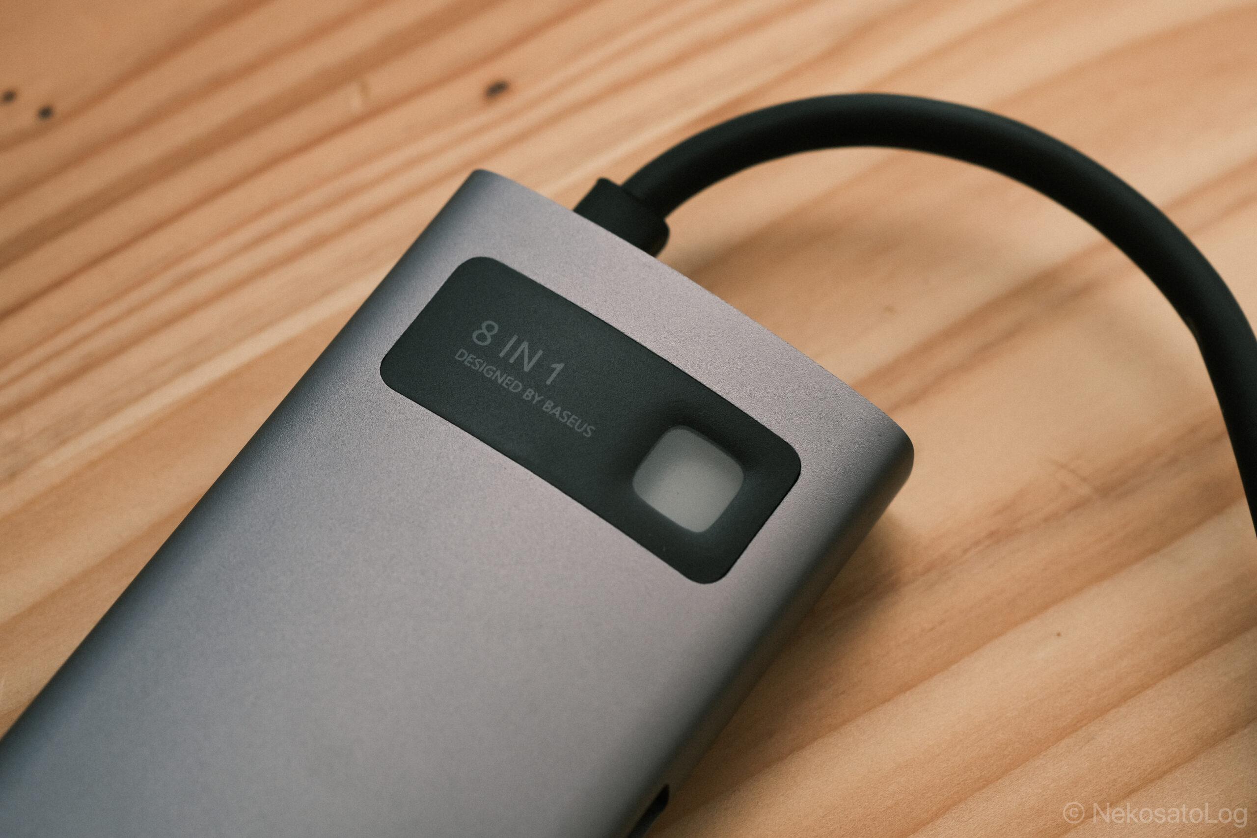 レビュー Baseus USBハブ 8-in-1 ハブ