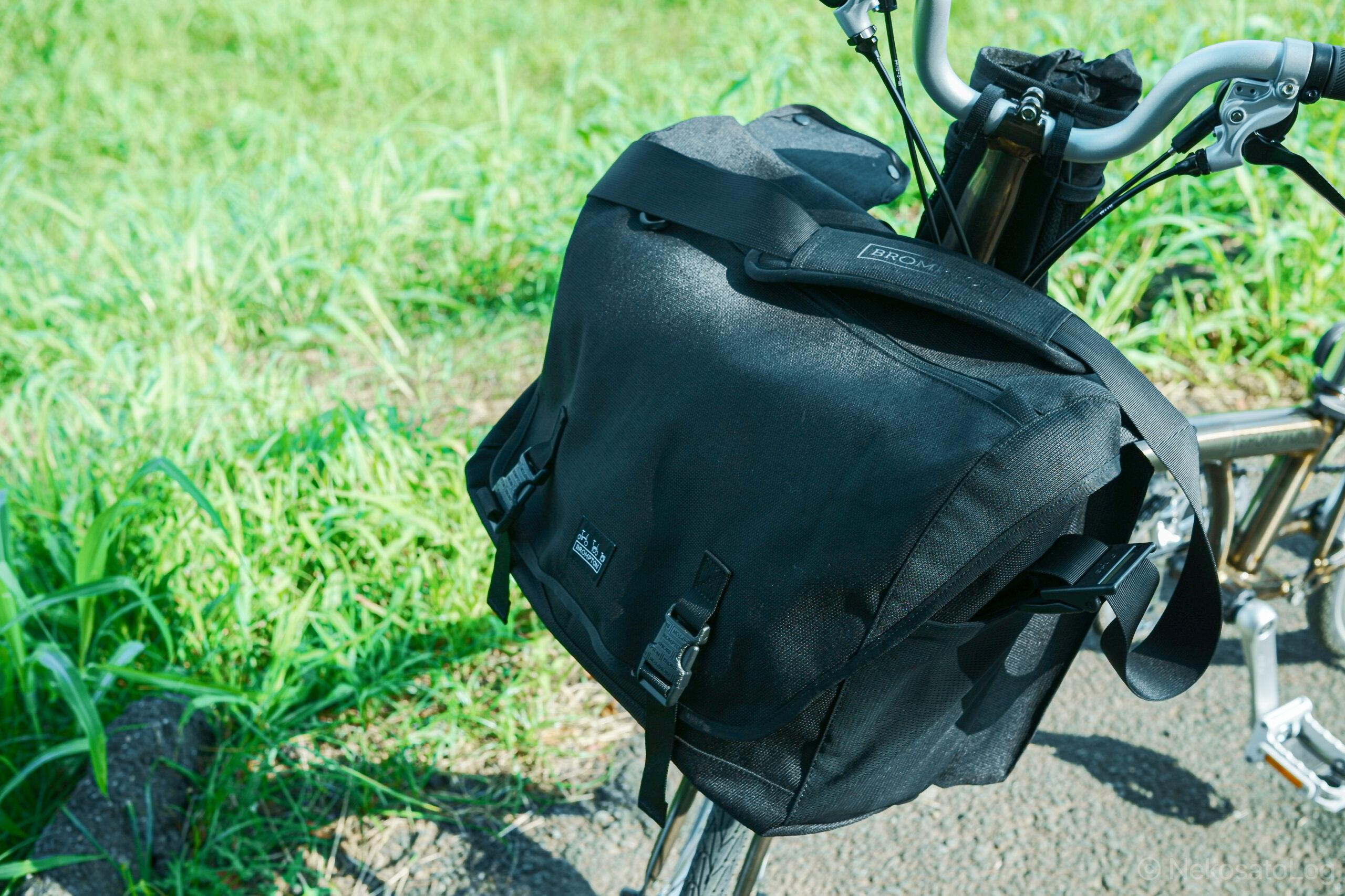 レビューBROMPTON Messenger Bag 23L