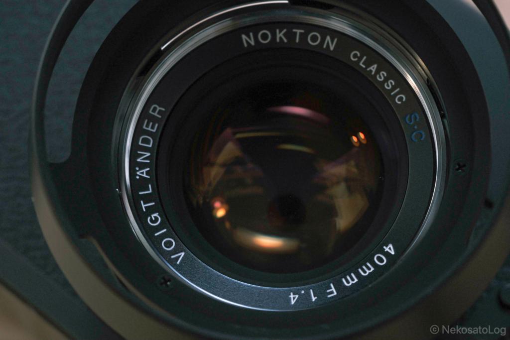 NOKTON classic 40mm F1.4 S.C. レビュー